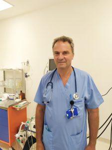 Д-р Георги Симеонов - Началник на отделение по анестезиология и интензивно лечение