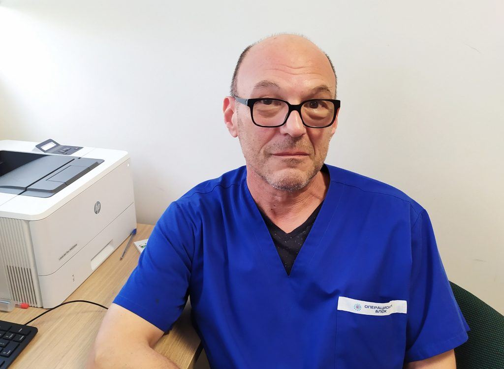 д-р Светослав Саджаклиев, гастроентеролог