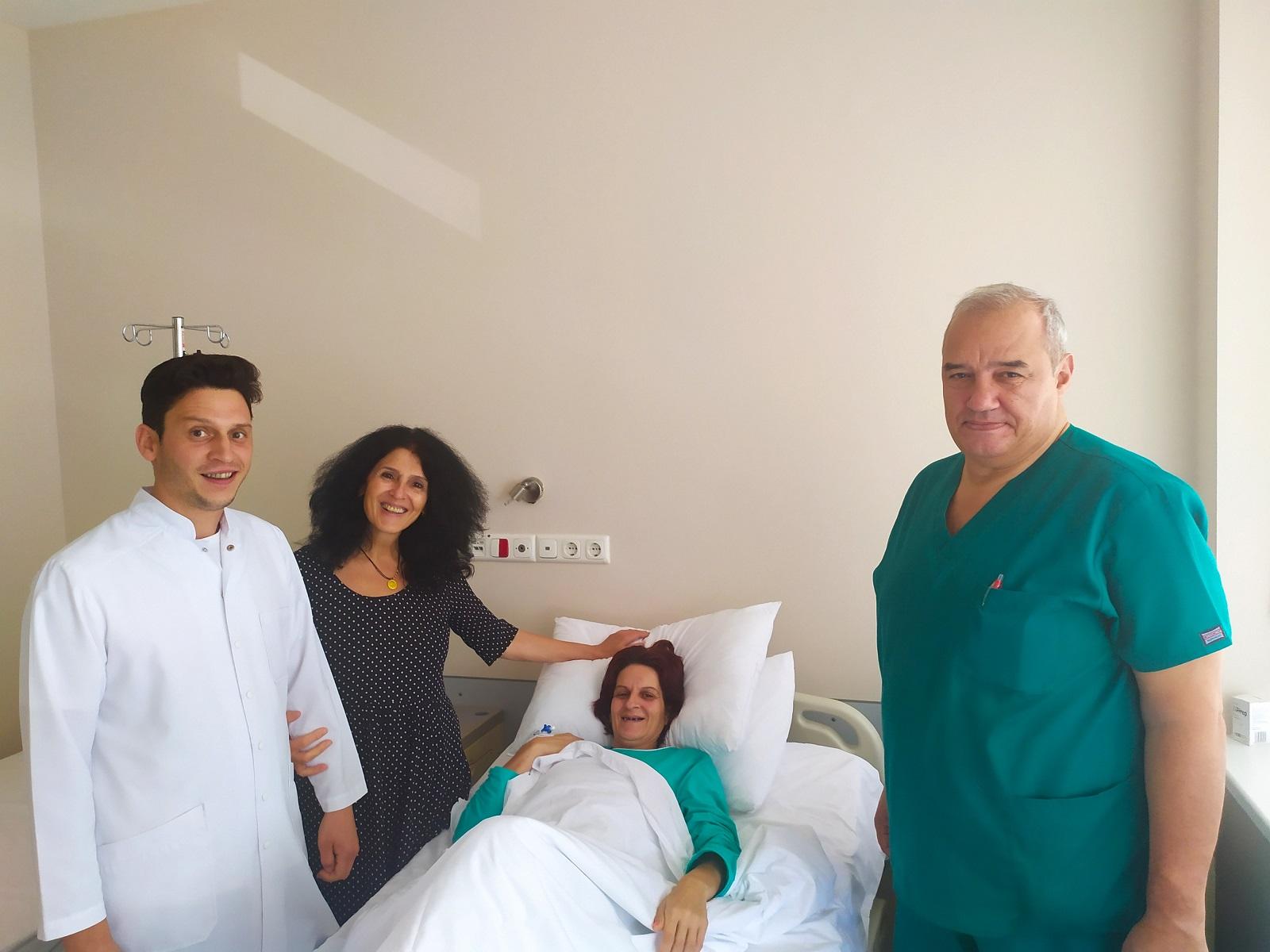 Прецизна диагностика и сложна операция спасиха пациентка с 3 кг миома