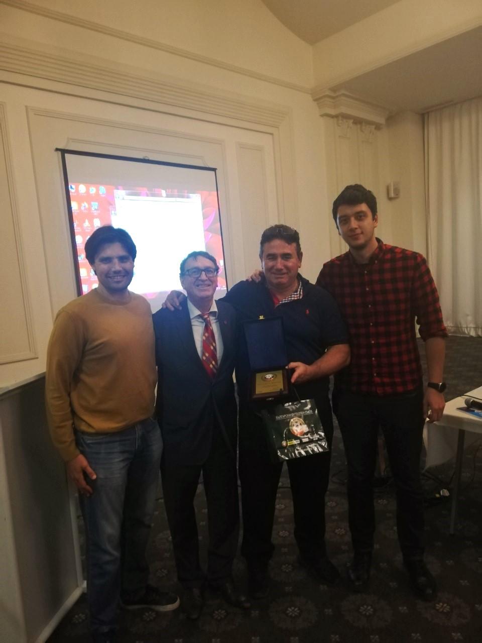 БФС награди д-р Христо Мазнейков за цялостния му принос