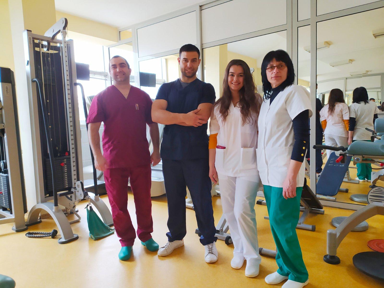 Новата смяна рехабилитатори