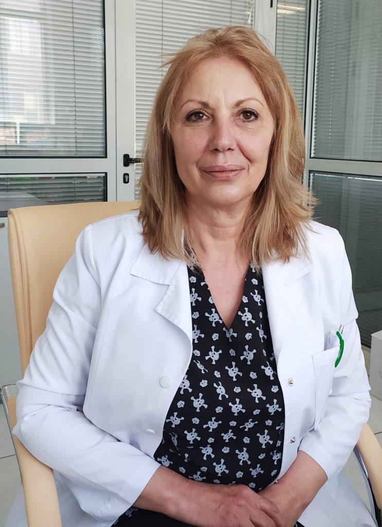 Вера Стоевска - главна медицинска сестра