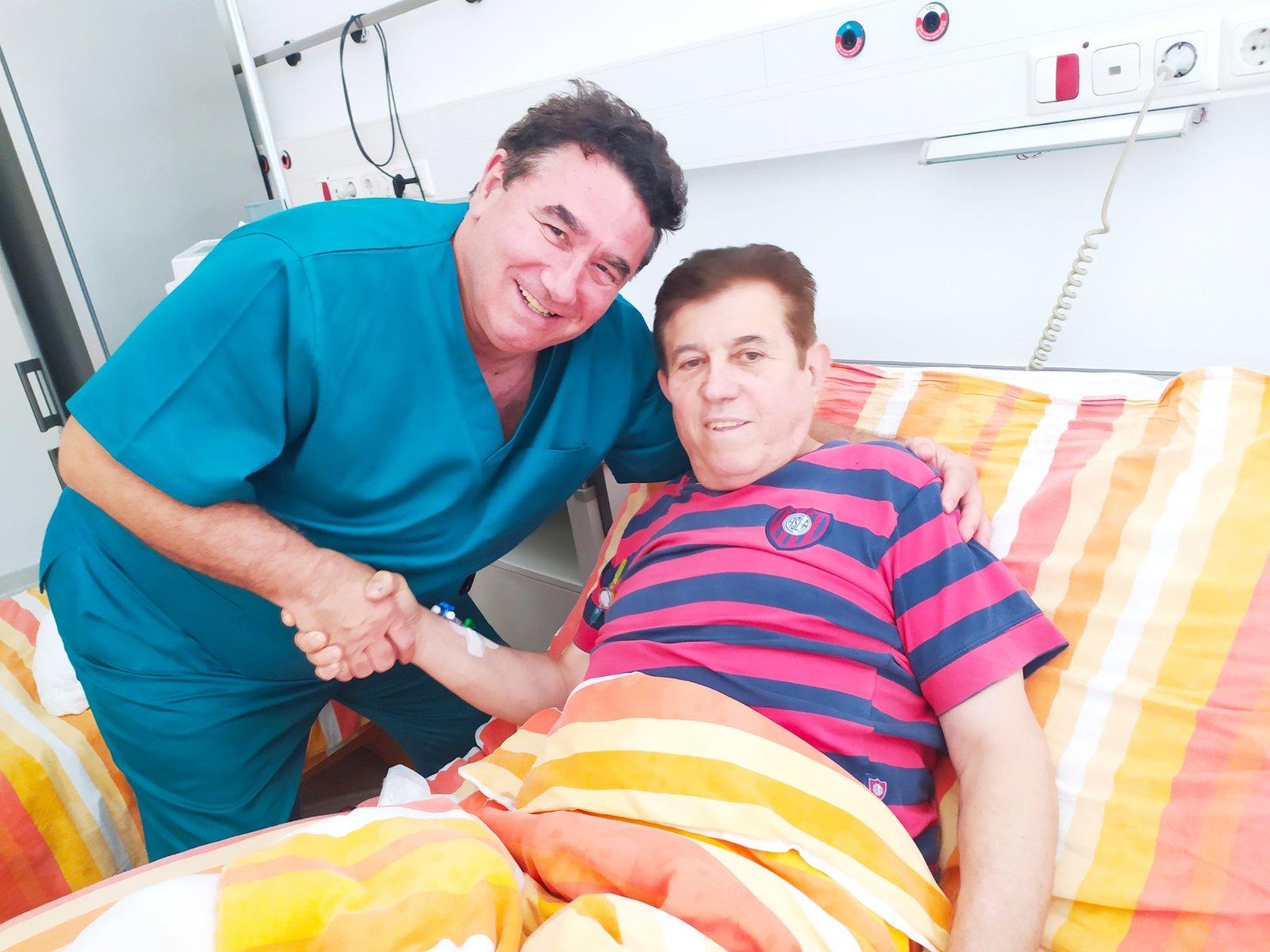 Мирчо Димитров: Лекарят на ФК Барселона ме насочи към д-р Христо Мазнейков